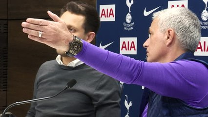 Behind the scenes - Mourinho's first Tottenham press conference