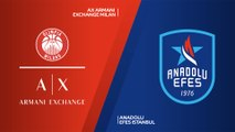 AX Armani Exchange Milan - Anadolu Efes Istanbul Highlights | EuroLeague, RS Round 10