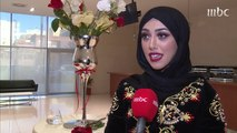 الفنانة الجزائرية منال الحدلي تتحدث عن علاقتها بالرياضة لصدى الملاعب