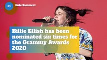 Billie Eilish Nabs Multiple Grammy Nominations