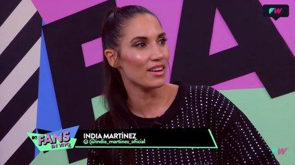 India Martinez en MTV Fans en Vivo