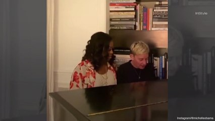 Ellen DeGeneres and Michelle Obama Just Had a Heartwarming (Albeit Pitchy) Duet