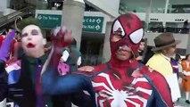 The JOKER vs LA COMIC CON + Harley Quinn, Poison Ivy - The Sean Ward Show