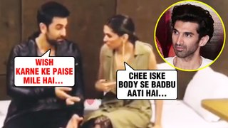 DRUNK Exes Deepika Padukone Ranbir Kapoor USE Bad Words For Aditya Roy Kapur's Birthday