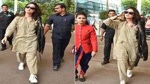 Kareena Kapoor Khan styles up Kurta Pajamas with leather jacket