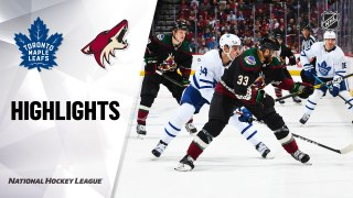 Arizona Coyotes vs. Toronto Maple Leafs - Game Highlights