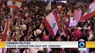 Lebanon's president reiterates call for for dialog with protesters