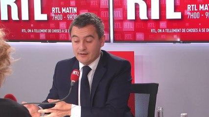 Gérald Darmanin - RTL vendredi 22 novembre 2019
