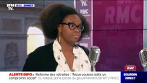 """Pour Sibeth Ndiaye, """"Enedis devrait pouvoir faire un geste financier"""" aux personnes privées d'électricité dans la Drôme"""