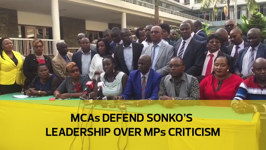 MCAs defend Sonko's leadership over MPs criticism