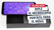 Diple, microscopio portátil para móvil