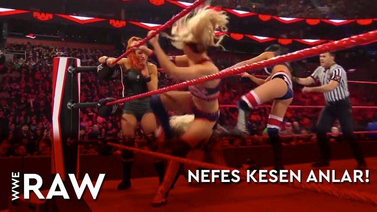 WWE Raw | Nefes Kesen Anlar! (Türkçe Anlatım)