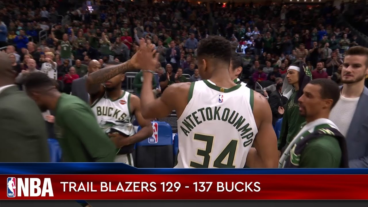 Portland Trail Blazers 129 - 137 Milwaukee Bucks
