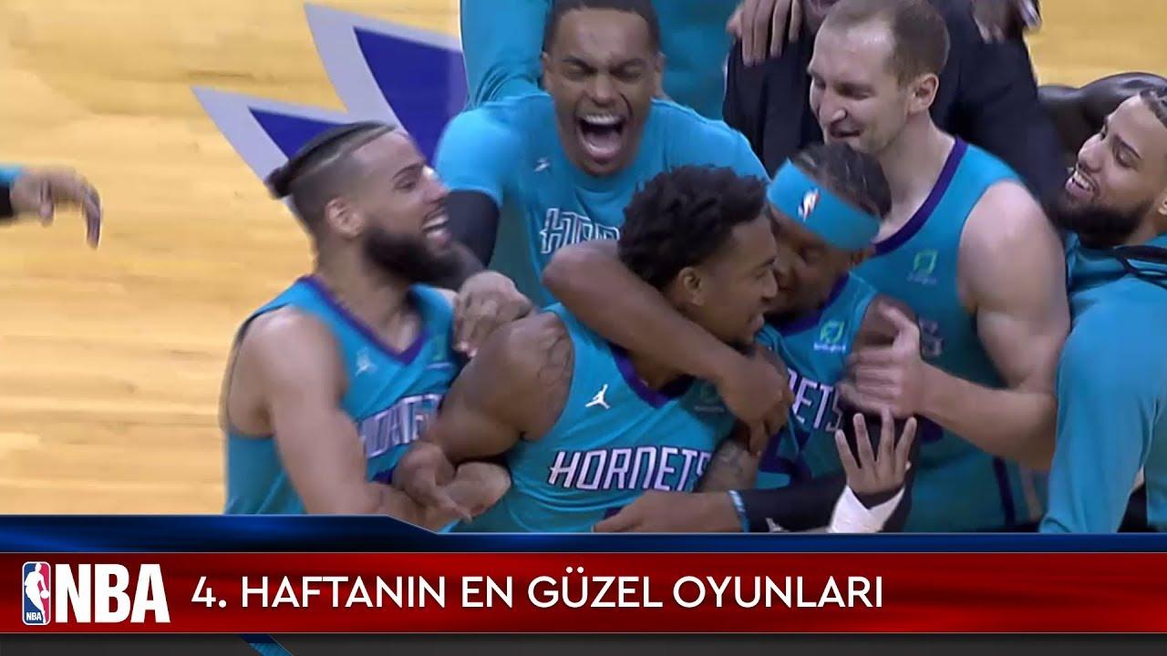 NBA'de 4. Haftanın En Güzel Oyunları