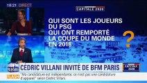 """Cédric Villani - """"Ca m'arrive d'aller au Parc Saint-Germain"""""""