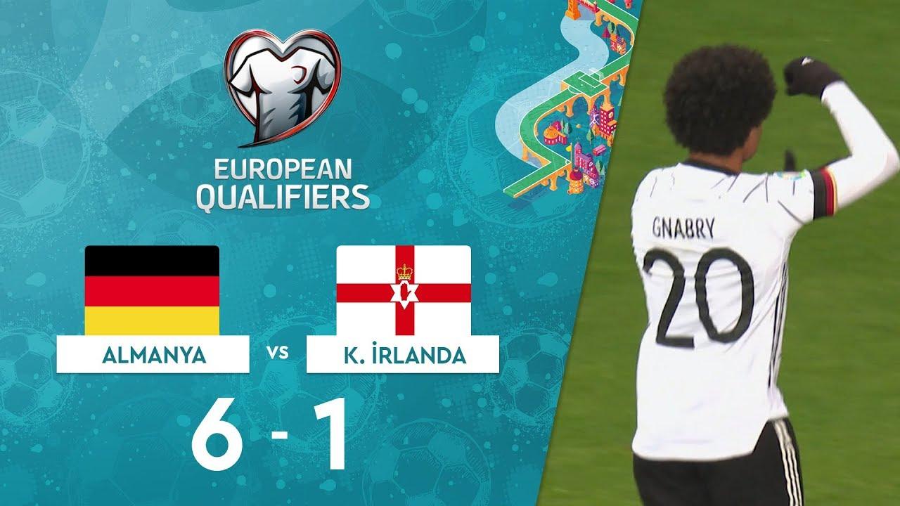 Almanya 6-1 Kuzey İrlanda | EURO 2020 Elemeleri Maç Özeti - C Grubu