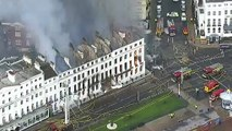 Eastbourne's Claremont Hotel ravaged by fire