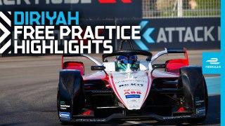 2019 SAUDIA Diriyah E-Prix  Friday Practice Highlights