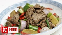 Retro Recipe: Black pepper beef