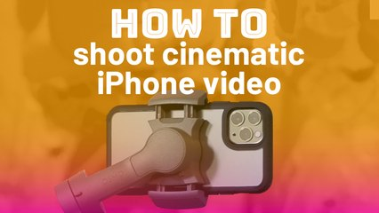 How to shoot cinematic video on iPhone 11 Pro