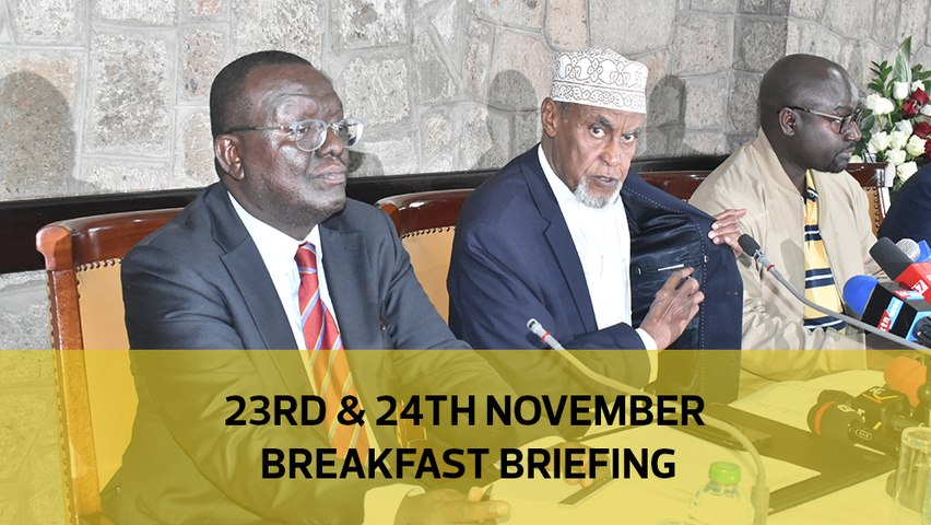 BBI report delays | No fraud in Integrity Centre sale | Dangerous Kibera law courts: Your Breakfast Briefing