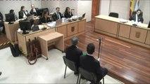 El Chicle atento en el juicio, sí mira las imágenes de su reconstrucción