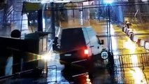 Así embistió la furgoneta kamikace la frontera de Ceuta