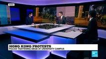 Hong Kong Protests: violence escalates at Polytechnic University Campus