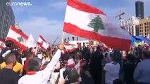 Dans la rue, les Libanais célèbrent leur indépendance