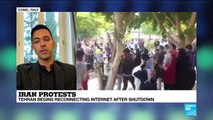 "Iran protests : ""There is a clear divide between the state and the society"", Ali Vaez"
