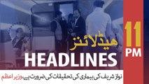 ARYNews Headlines | PM Imran to launch Clean Green Pakistan Index on Nov 25 | 11PM | 22 NOV 2019