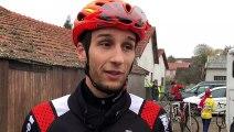 Cyclo-cross - La réaction de Vincent Sibille après sa victoire à Golbey