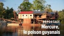 Chercheurs d'or : avec le mercure, ils empoisonnent la Guyane
