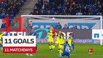 Bundesliga: 11 Matchdays 11 Goals