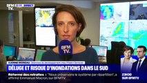 """Intempéries: """"Actuellement les zones les plus à risques se trouvent dans le Var"""" (Predict Services)"""