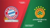 FC Bayern Munich - Panathinaikos OPAP Athens  Highlights |EuroLeague, RS Round 10