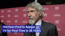 Harrison Ford Revisits The Small Screen