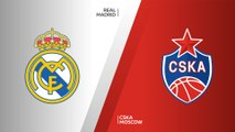 Real Madrid - CSKA Moscow Highlights | Turkish Airlines EuroLeague, RS Round 10