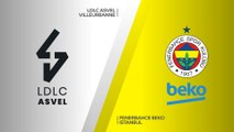 LDLC ASVEL Villeurbanne - Fenerbahce Beko Istanbul Highlights | EuroLeague, RS Round 10