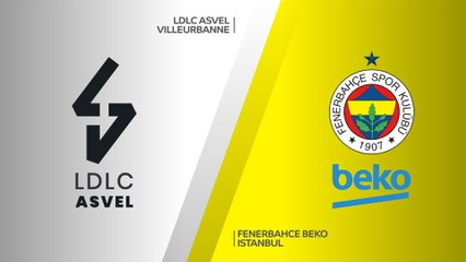 EuroLeague 2019-20 Highlights Regular Season Round 10 video: ASVEL 72-88 Fenerbahce