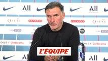 Galtier «Il faut être plus efficace» - Foot - L1 - Lille