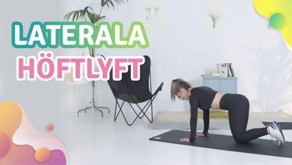 Laterala höftlyft -  Steg för Hälsa