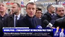 "Emmanuel Macron: ""Moi j'ai dit la vérité à Whirpool"""
