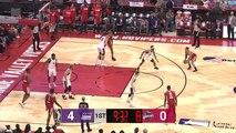 Jaron Blossomgame Posts 21 points & 14 rebounds vs. Stockton Kings