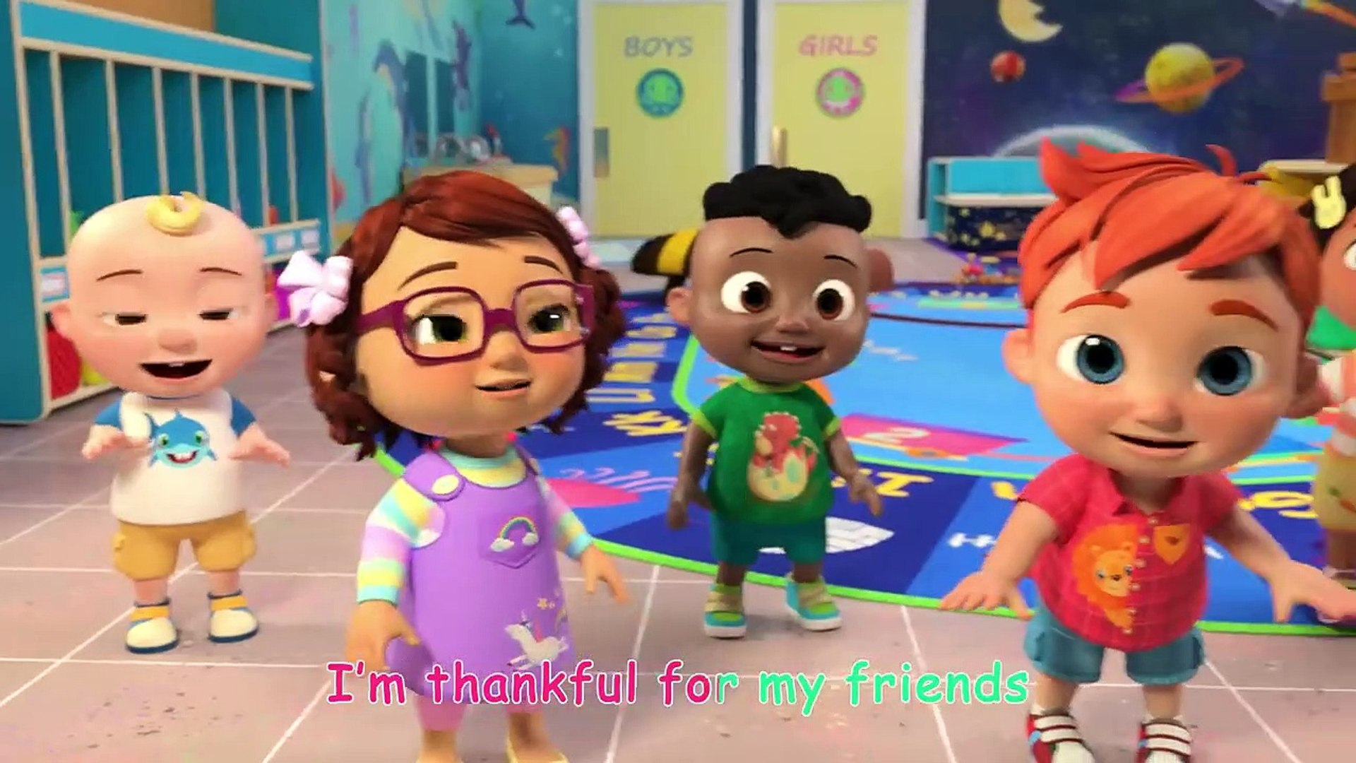 Thank You Song School Cocomelon Nursery Rhymes Kids Songs Video Dailymotion