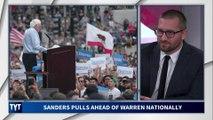 Bernie Sanders Pulls Ahead Of Elizabeth Warren