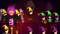 Ten Little Witches - Halloween Counting Song and Nursery Rhymes - Debbie Doo