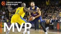 Turkish Airlines EuroLeague Regular Season Round 10 MVP: Nikola Mirotic, FC Barcelona