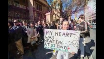 2019 AUG 20 Clip Thousands Descend on NSW Parliament for Late Night Pro Life Rally by L Barrett Au
