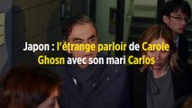 Japon : l'étrange parloir de Carole Ghosn avec son mari Carlos